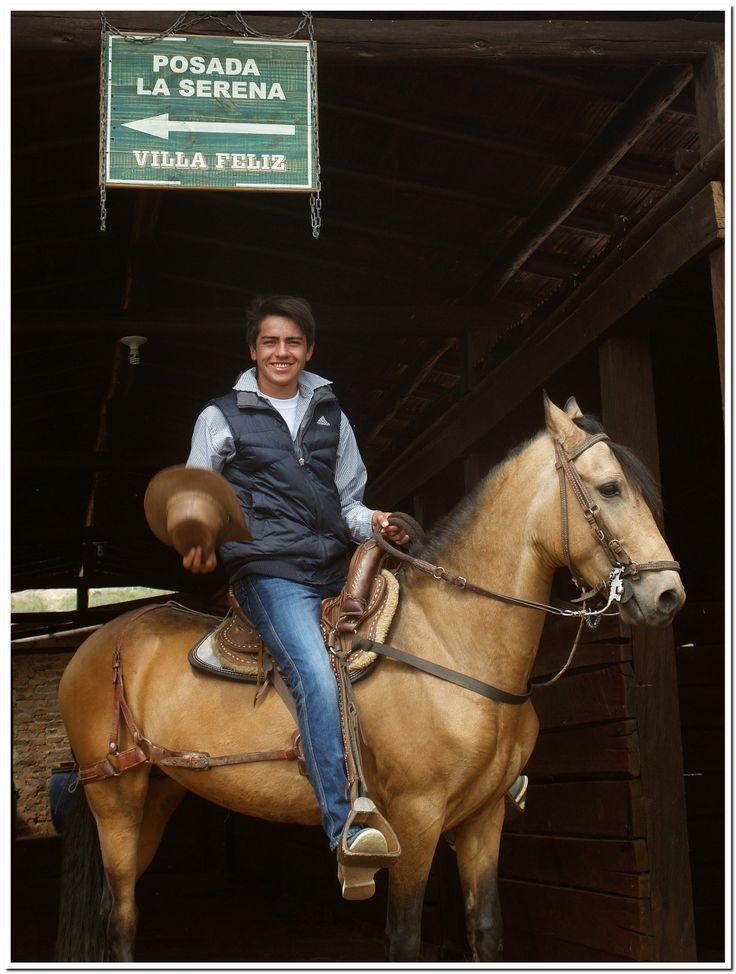 Para los amantes de los caballos. cabalgatas inolvidables POSADA LA SERENA #VILLADELEYVA CEL: 316 7422809