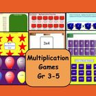 This is a Smart Notebook 11 file.  There are 8 pages in this file. Learning Multiplication facts can be fun with these eight games.    Page 1  Stud...