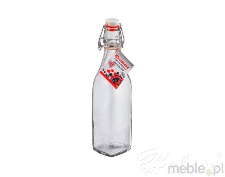 WESTMARK: Butelka szklana z korkiem - 0,50 l