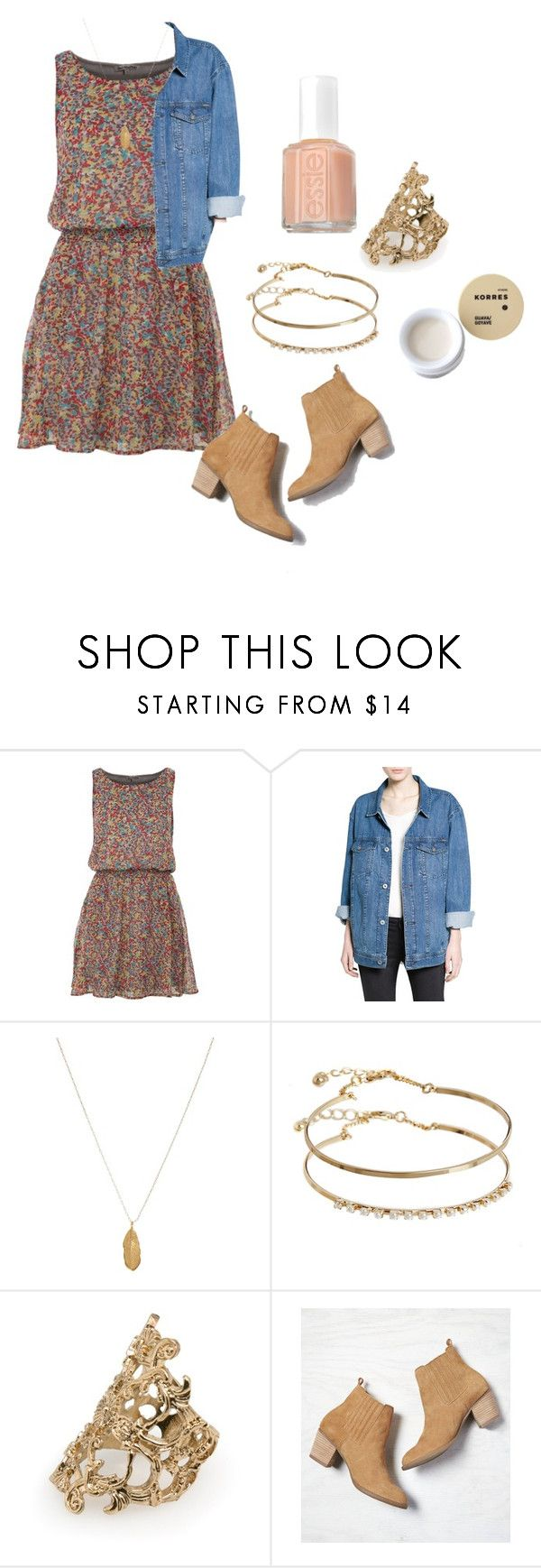 """Allison Argent Summer Outfit"" by zoegeorgiou2001 on Polyvore featuring Best Mountain, MANGO, Orelia, ASOS, Essie, Korres, American Eagle Outfitters, TeenWolf and allisonargent"