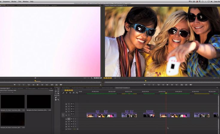 Use Flash Transitions to Stylize Your Edit in Adobe Premiere Pro