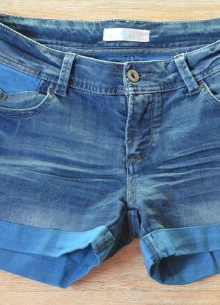 Kup mój przedmiot na #Vinted http://www.vinted.pl/kobiety/szorty-rybaczki/9166909-jeansowe-szorty-niebieskie