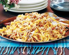 Tagliatelle with Bolognese Sauce - no introduction needed - decadence and comfort in a bowl