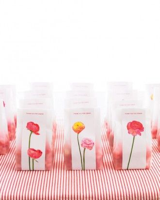 """See the """"Floral Wedding Favor Bag"""" in our  gallery"""