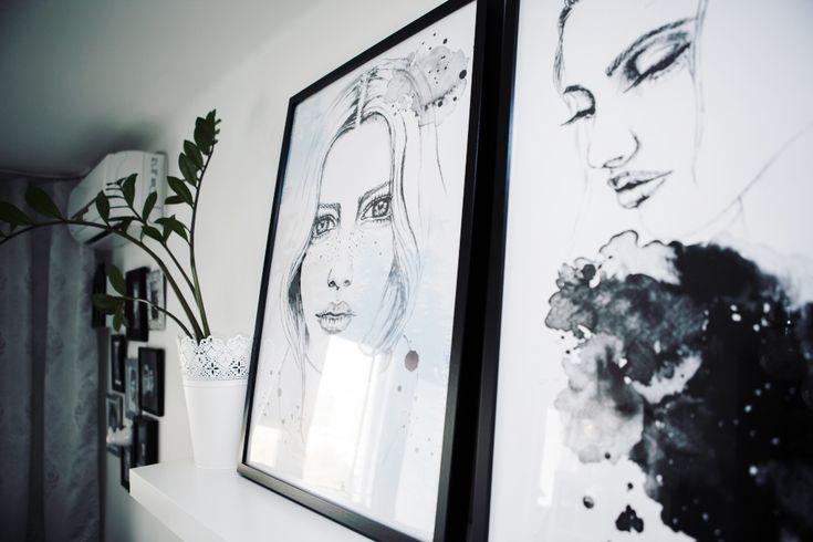 modern living room decor & ideas | my small living room!