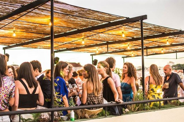 10 BEST ROOFTOP BARS IN LISBON For cocktails and spectacular views, head to the city's coolest rooftop hangouts via Conde Nast Traveller
