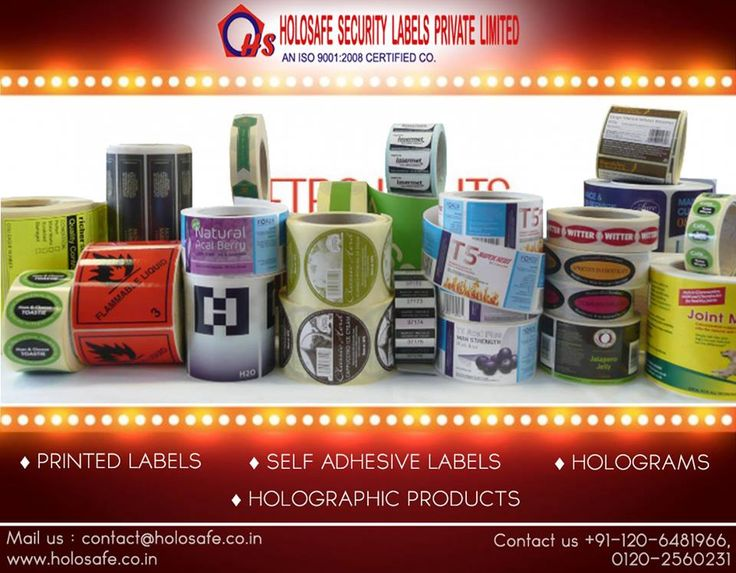 Security #Labels provides solutions to Home & Personal Care labels of all shapes & sizes.