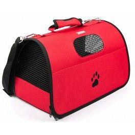 Esta bolsa es para trasladar a tu perro de la manera más cómoda posible, semirígida y acolchada, cómoda par él y para ti.