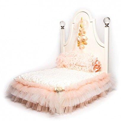 Peachy Princess Bed | Shiloh's Dog Boutique