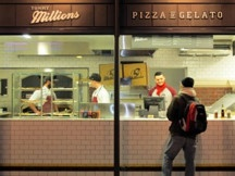 Tommy Millions, possibly the best pizza in Wellington, New Zealand.