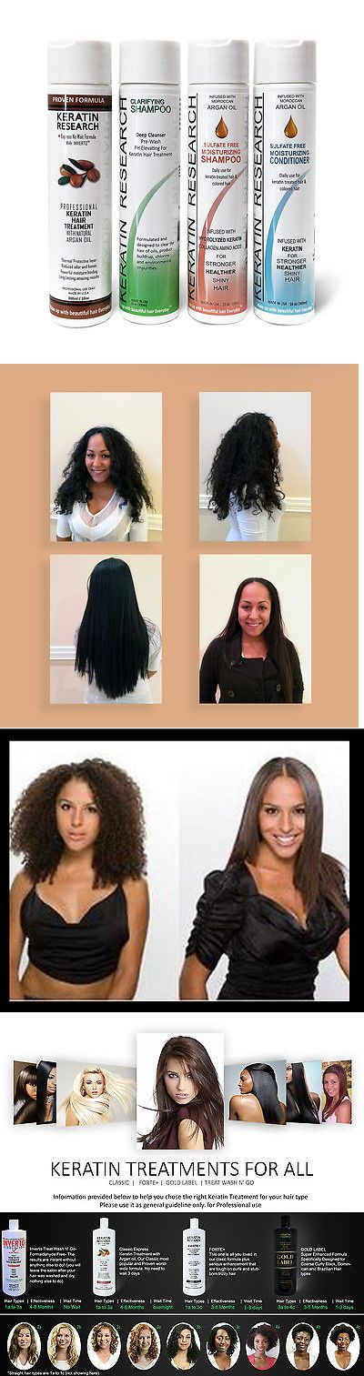 Relaxers and Straightening Prod: Brazilian Keratin Blowout Hair Complex Treatment Straightening Large Kit Usa BUY IT NOW ONLY: $74.0