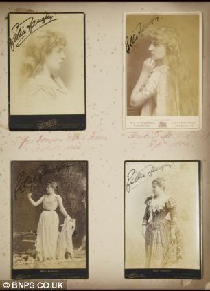 Lillie Langtry, Edward VII's mistress: pictures of woman behind royal affair up for auction   Mail Online