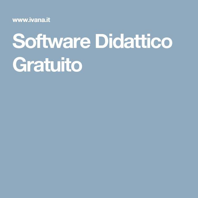 Software Didattico Gratuito