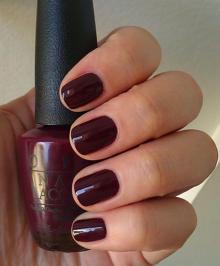 Nail Colors Burgundy: 25+ Best Oxblood Nails Ideas On Pinterest