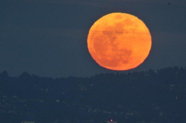 Honey Moon or Strawberry Moon Visible Friday the 13th (Video)