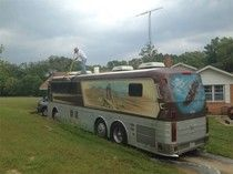 Willie Nelsons' tour bus for sale.