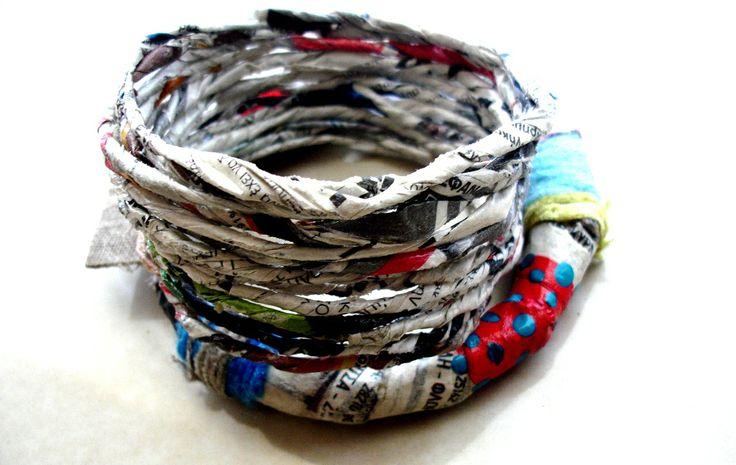 paper bangles