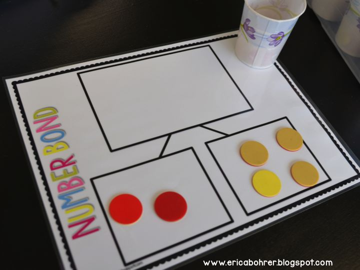 Number Bond Work Mat Engage NY First Grade Free Math Resources and Downloads by Erica Bohrer