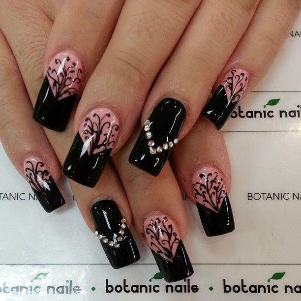66 best Nails art images on Pinterest | Botanic nails, Beauty and ...