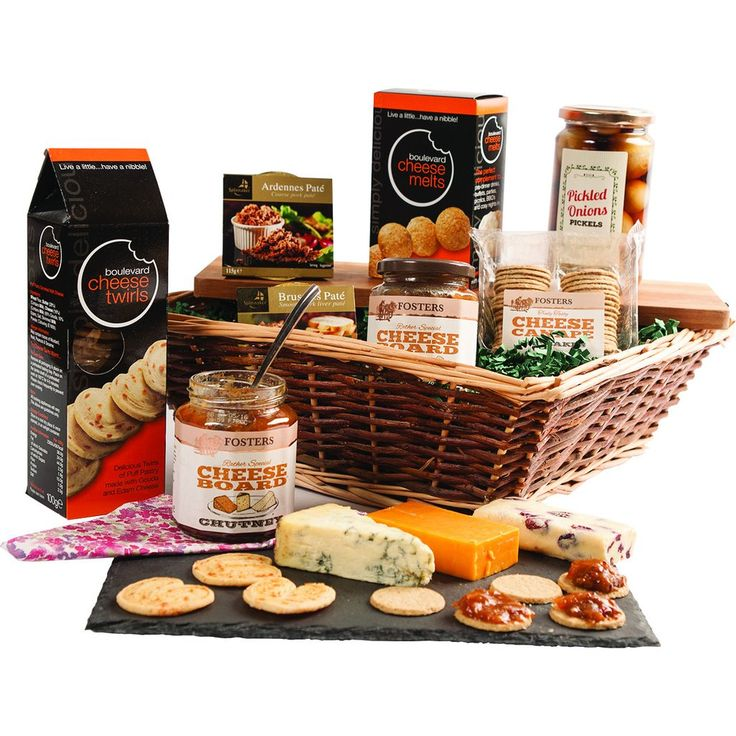 Just Add Cheese Hamper  Amazing, and all you need is the cheese!!