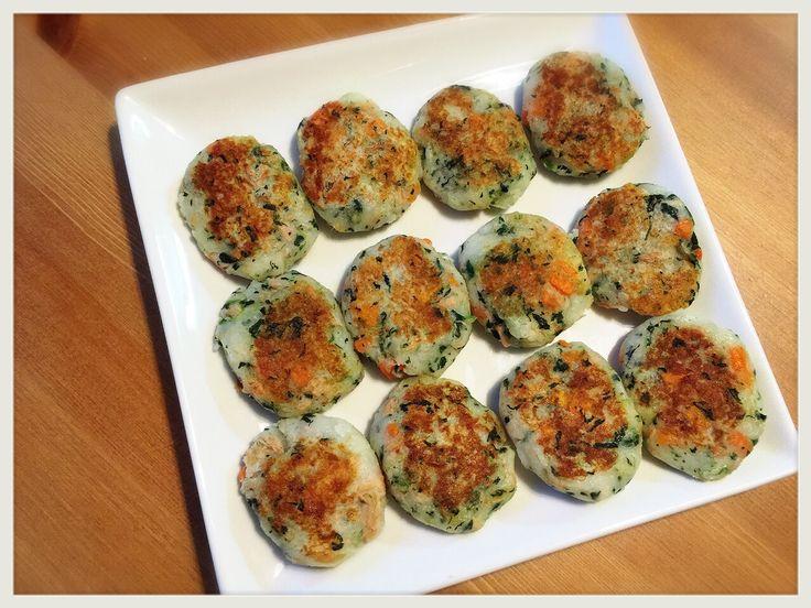 簡単!ツナと野菜のおやき(離乳食中期〜)冷凍保存で作り置き!   MOTOmun