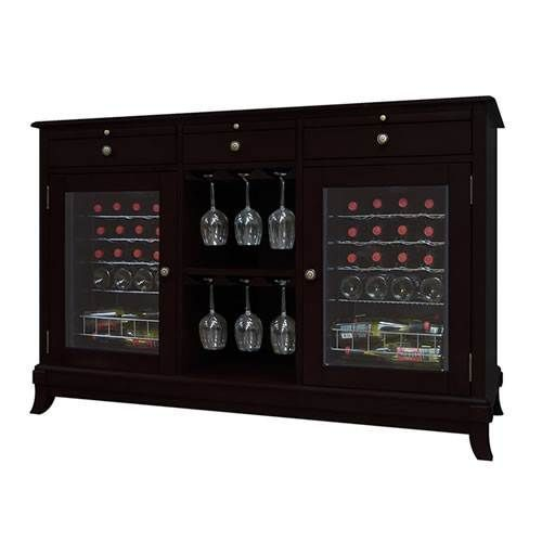 Vinotemp Cava 36-Bottle Wine Credenza