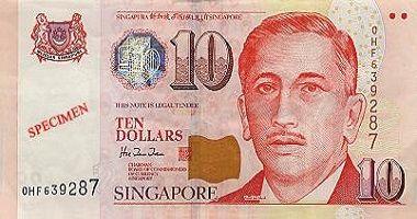 Singapore Dollar to US Dollar cash converter