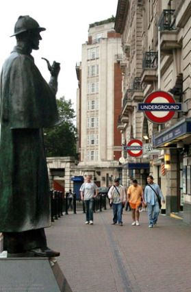 (PHOTO: PA)  Travel quiz: Can you name Britain's famous TV locations?   12 - London's Baker Street is the haunt of Britain's best-loved detective. Guess who!