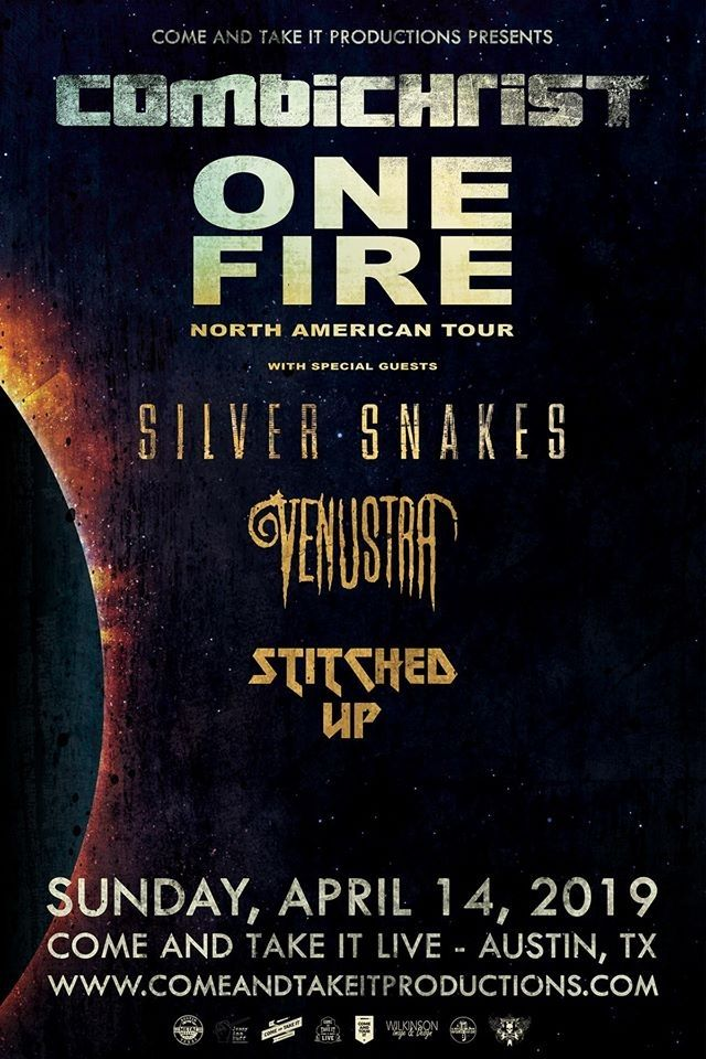 Combichrist Come And Take It Live With Images Come And Take