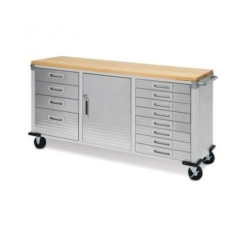 Flip And Fold Rolling Table Stainless Steel Wood: 17 Best Ideas About Rolling Workbench On Pinterest