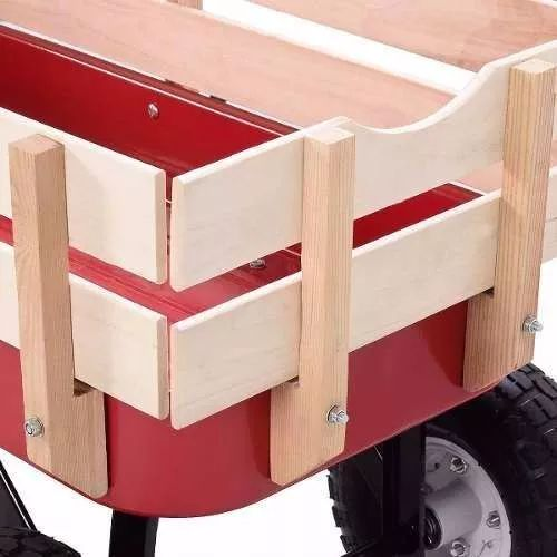 vagon radioflyer uso rudo rueda de aire carrito niño juguete