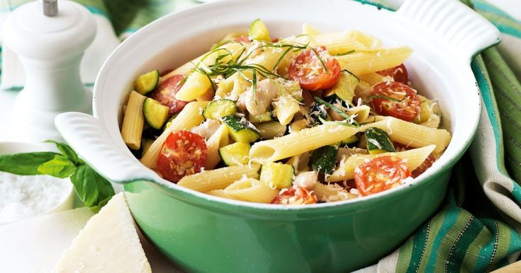 Try this vegetarian bean pasta creation that is rich, satisfying and budget friendly!