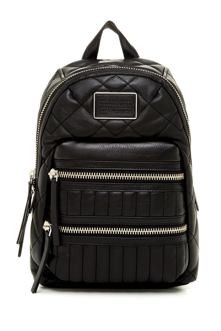 Marc by Marc Jacobs - Quilted Leather Backpack at Nordstrom Rack. Free Shipping on orders over $100.
