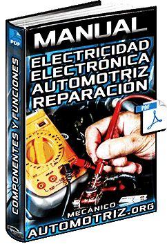 Descargar Manual Completo de Electricidad y Electrónica Automotriz - Circuitos, Componentes, Protección, Instrumentos, Diagramas, Baterías y Reparaciones Gratis en Español y PDF.