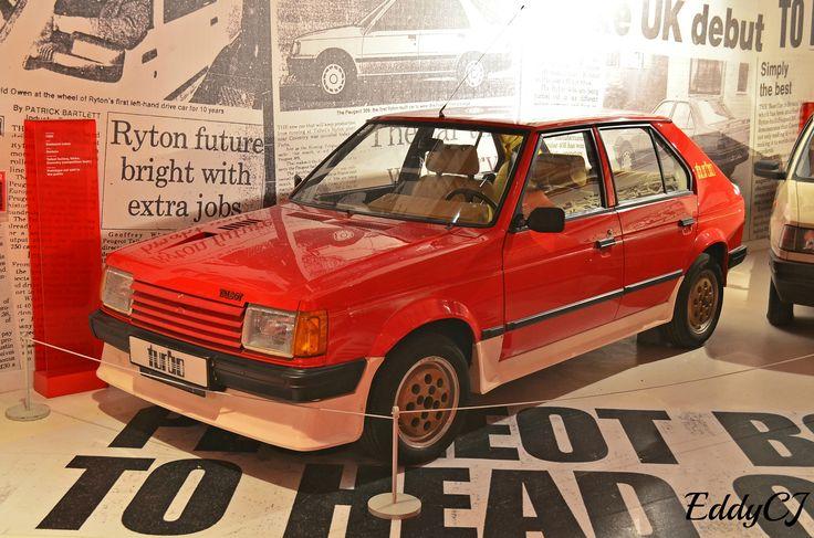 OG  1984 Talbot Horizon Turbo  Concept built and designed in Coventry, UK