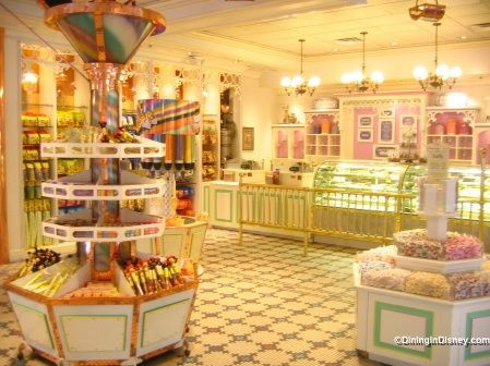 Walt Disney World - Magic Kingdom - Main Street Confectionery! You can get a sugar high just by walking through the doors...