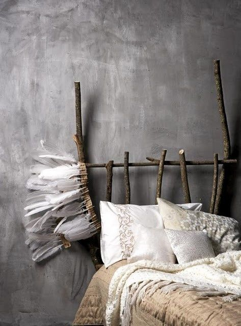 Like the grey walls, not so impressed by the bed though...