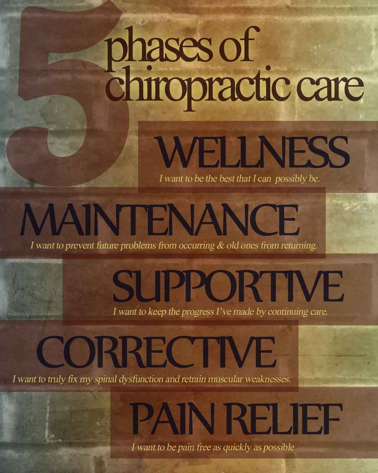 Chiropractic has something to offer to every individual.