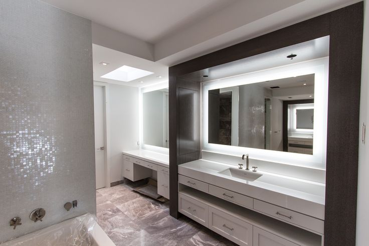 26 best images about backlit mirrors mirror tv on for Tv in bathroom ideas