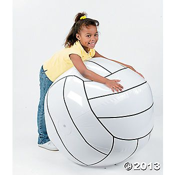 Inflatable Enormous Volleyball for garden party games