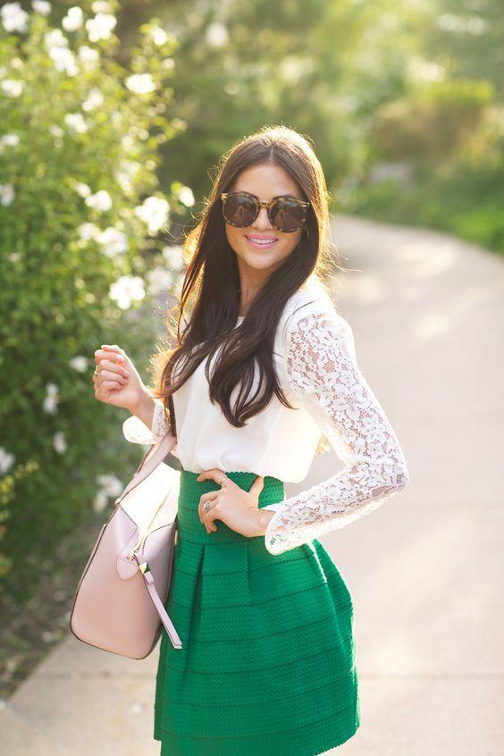 Fashion Inspiration: Весенняя зелень