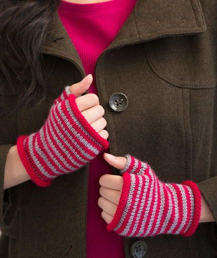 Fingerless Gloves Knitting Pattern Double Pointed Needles : 99 best images about How to Knit Mittens & Fingerless ...