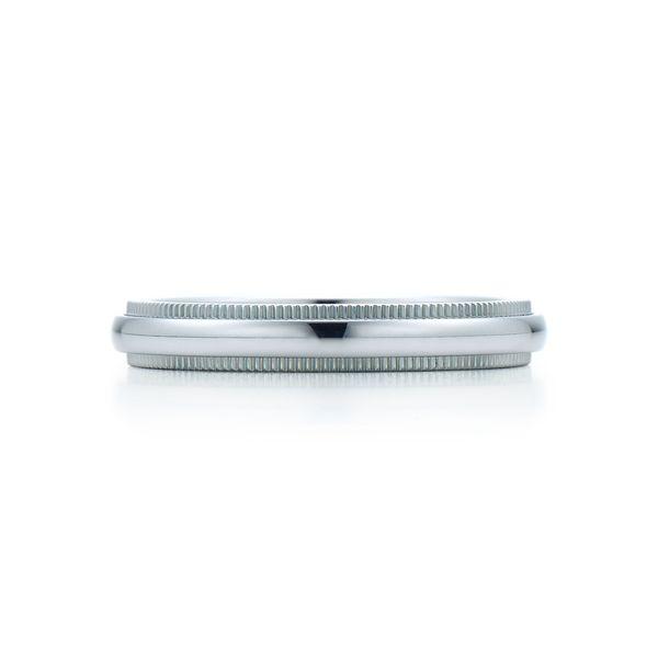 ミルグレイン ウェディング バンドリング(3mm) - Tiffany & Co.(ティファニー)の結婚指輪(マリッジリング)
