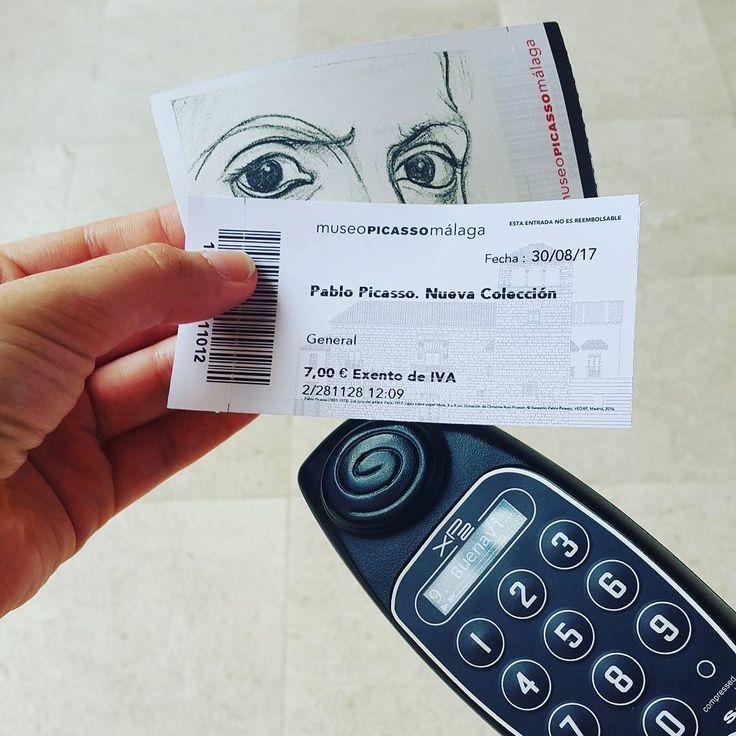Пикассо прекрасен. Оказывается он тоже любил сов и котиков :) #музей #пикассо #малага #билеты #испания #picasso #museum #malaga #spain #tickets