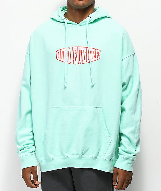 8fcca3e90 Odd Future Oval Teal Hoodie | Clothes that I want | Hoodies ...