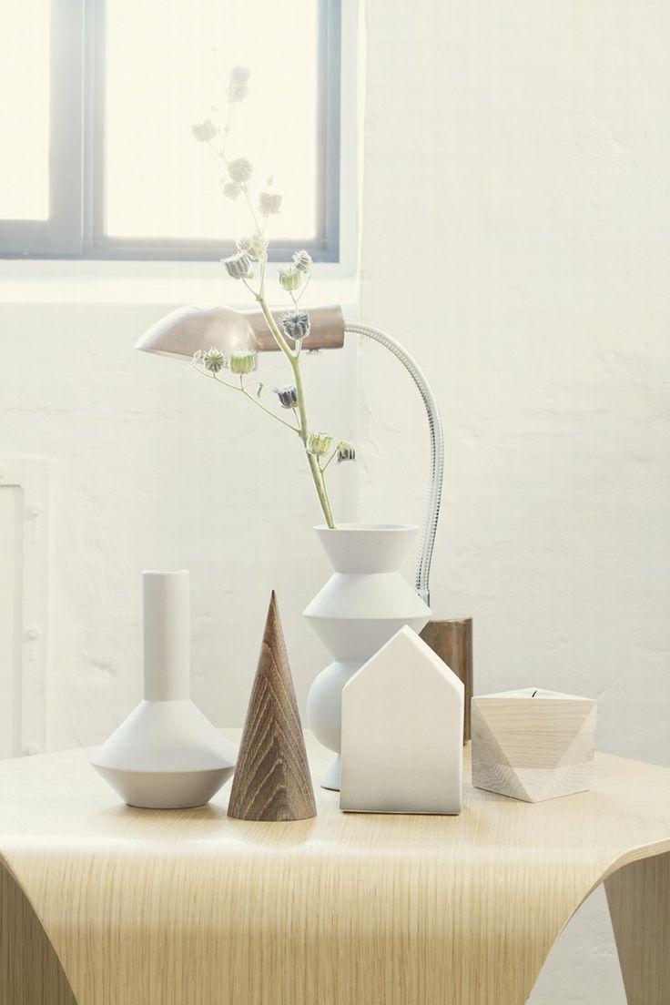Candleholder - Cube Maple