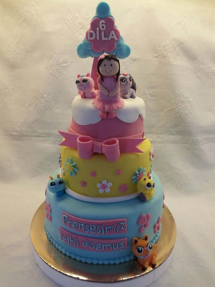 Little pet shop cake
