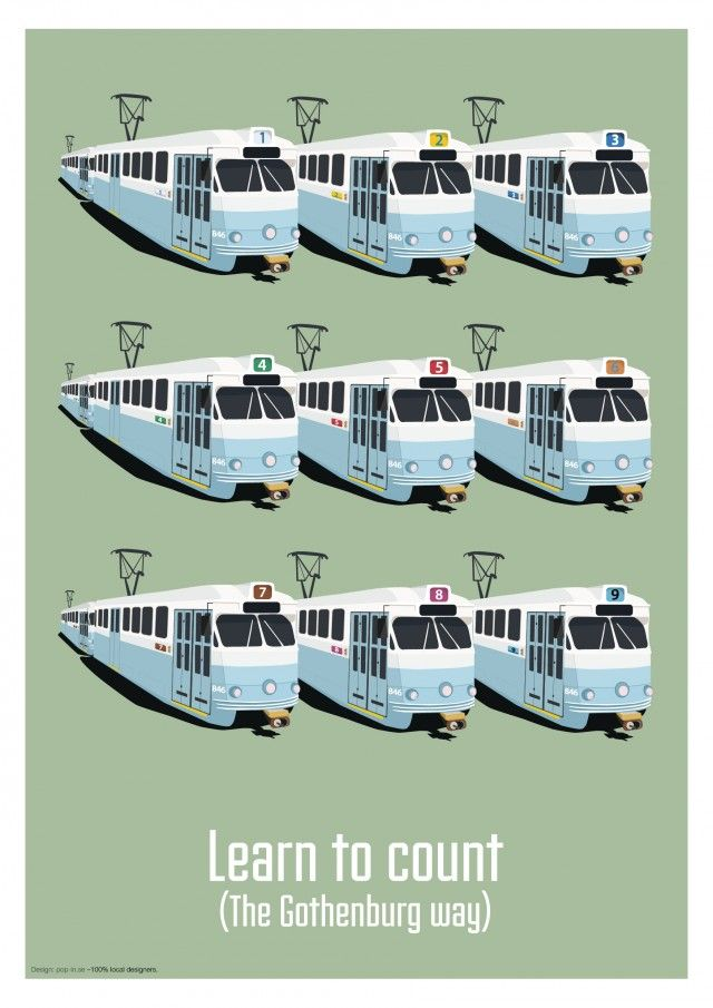 Learn to count (The Gothenburg way)