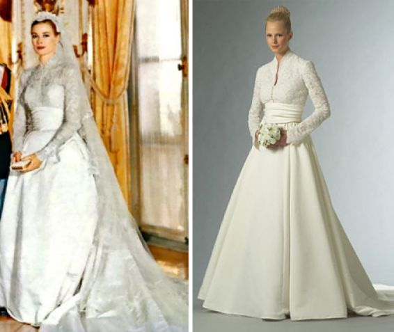 Pin by julia st clair on my style pinterest for Grace kelly dress wedding