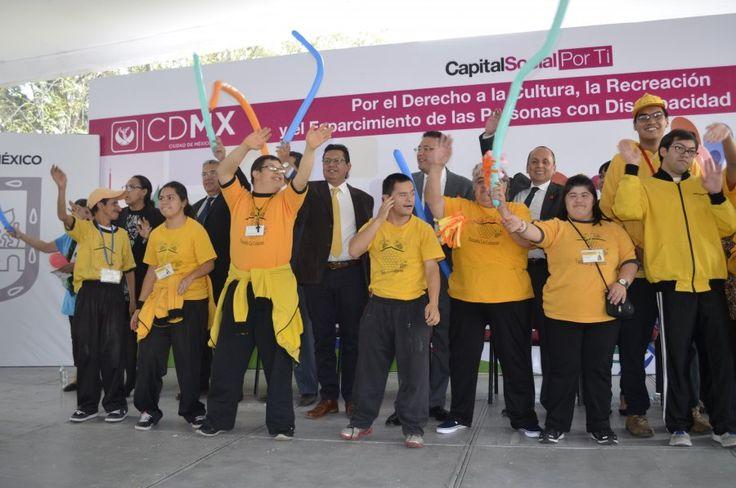 DIF DF y Delegación Iztacalco promueven derecho a la cultura y esparcimiento para las personas con discapacidad